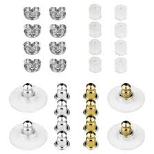 ear ring photo women s earring back 28 pc brass earring back gold clear silver
