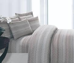 elegant linen mirage collection u2013 smoke duvet cover set by ben