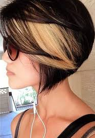 blonde bobbed hair with dark underneath 50 stylish highlighted hairstyles for black hair 2017