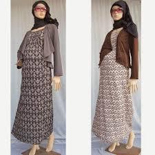 desain baju batik untuk acara resmi baju gamis pesta batik desain baju gamis batik terbaru 2015