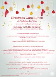 christmas parties hintlesham golf club