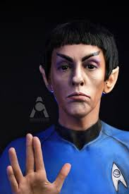 Spock Halloween Costume Photographer Completely Transforms Character