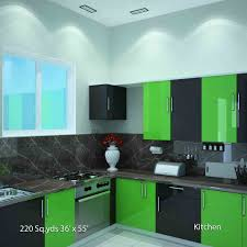 interior design of kitchen room way2nirman sqyds 36x55 sqfts west 2bhk kitchen interior designs