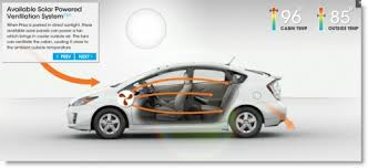 toyota prius moonroof toyota prius sports solar roof saves you from summer sizzle