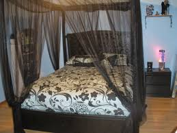 black bed canopy home design image of good black bed canopy