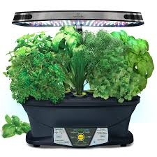 shop aerogarden extra led hydroponic system 24 in maximum plant