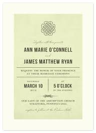 celtic wedding invitations wedding invitations vintage celtic knot at minted