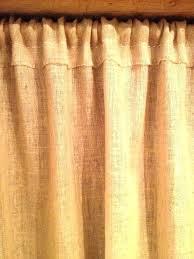 Burlap Shower Curtains Burlap Shower Curtain Grommet Burlap Curtains Image Of Custom