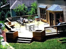 Deck Patio Designs Beautiful Pictures Of Backyard Decks Minimalist Backyard Decks S