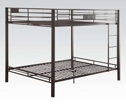 Metal Bunk Bed Frame Cambridge Black Metal Bunk Bed