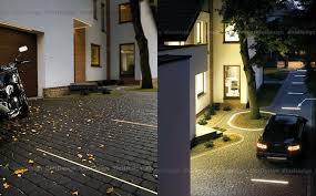 driveway led lighting the ultimate curb appeal