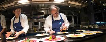 michelin si e social land and seafood michelin starred chef marco sacco shares his april