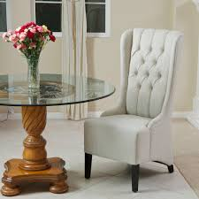 Noble House Dining Chairs Trujillo Tufted Light Beige Fabric Dining Chair U2013 Noble House