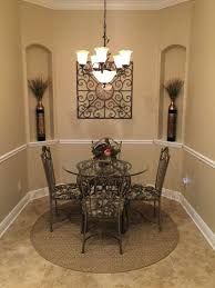 traditional dining room with chair rail u0026 crown molding in ponte