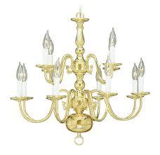 Polished Brass Bathroom Lighting Fixtures Livex Lighting 5012 02 Williamsburg 12 Light Two Tier 8 4