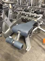 Nautilus Sit Up Bench Used Freeweight Benches Csm Fitness Equipment