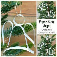 paper ornament craft with free template