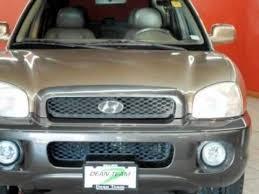 2002 hyundai santa fe v6 2002 hyundai santa fe gls 4wd auto v6