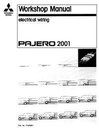 mitsubishi pajero 2001 electrical wiring manual pdf free downloading