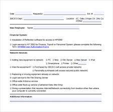 maintenance request form template excel request form hardware and software request form sle