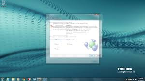 toshiba how to connecting to a wi fi network using windows 7