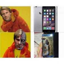 Galaxy Note Meme - dopl3r com memes and you had to choose samsung galaxy note 7