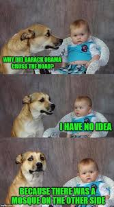 Obama Dog Meme - dad joke dog meme imgflip