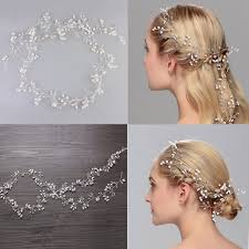 handmade headbands jonnafe fashion hair vine bridal headband pearls