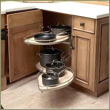 organize lazy susan base cabinet how to organize a corner cabinet kitchen organize corner cabinet