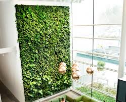 what are the benefits of living green walls or vertical gardens