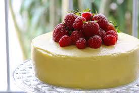 white chocolate mousse cake summer berries crummb