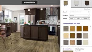 room designer design a room from armstrong flooring