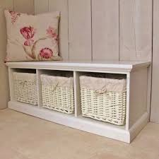 Bench With Baskets Popular Of Storage Bench With Baskets With Entryway Storage Bench