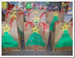 decorate christmas bags for parent gifts winter holidays at