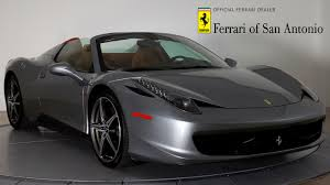 convertible ferrari certified pre owned 2014 ferrari california for sale san antonio
