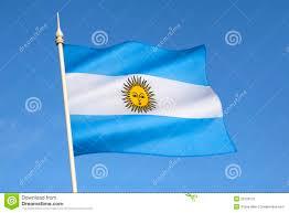 flag argentina south america stock image image 35129121