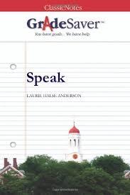 speak speak the book vs speak the movie gradesaver