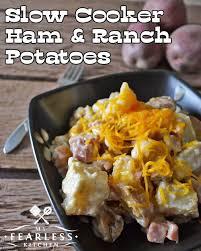Potatoes Main Dish - slow cooker ham u0026 ranch potatoes my fearless kitchen