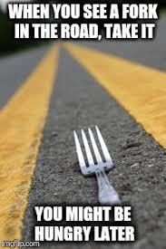 take the fork imgflip
