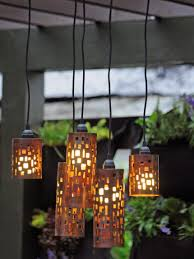 Gazebo Solar Chandelier Garden Chandelier Battery Operated Hanging Garden Battery