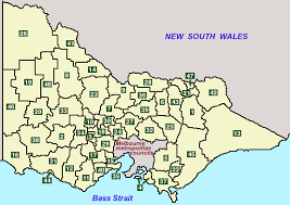 Councils Of Melbourne Map Regional Councils Government Travel Accommodation