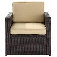 amazon com crosley furniture palm harbor 4 piece outdoor wicker