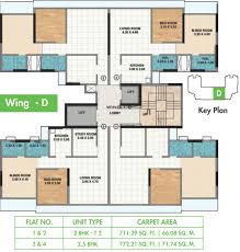 o2 floor seating plan 1022 sq ft 3 bhk 3t apartment for sale in ahuja o2 sion mumbai