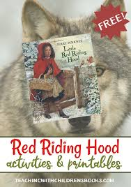 red riding hood printables activities