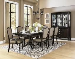 9 dining room set homelegance marston 9 pedestal dining room set in