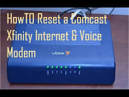 xfinity online light not on how to reset comcast xfinity internet voice modem youtube