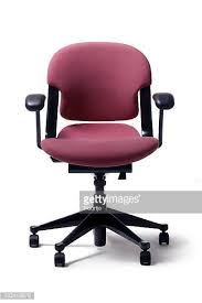 Purple Desk Chair Office Chair Stock Photos And Pictures Getty Images