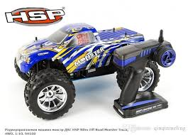 nitro rc monster truck for sale hsp rc truck 1 10 scale models nitro power 4wd off road monster