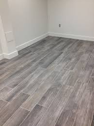 Grey Tile Bathroom by Love Wood Tile In A Herringbone Pattern Such A Great Look And So