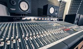 Recording Studio Mixing Desk by Recording Studio Manchester Hop Pole Studios Mixing And Mastering